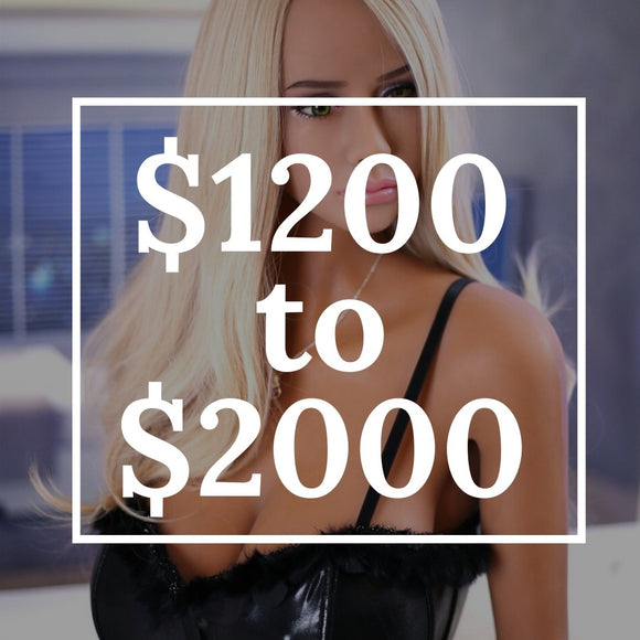 Sex Dolls from $1200 to $2000 | Premium Dolls