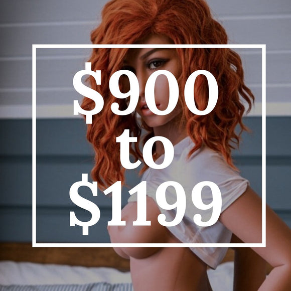 Sex Dolls from $900 to $1199 | Premium Dolls