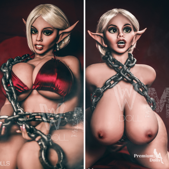 Morina - Elf Sex Doll with TPE skin Teeth & tongue