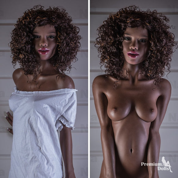 Antonina - Black Sex Doll with Amazing Body from Premium Dolls