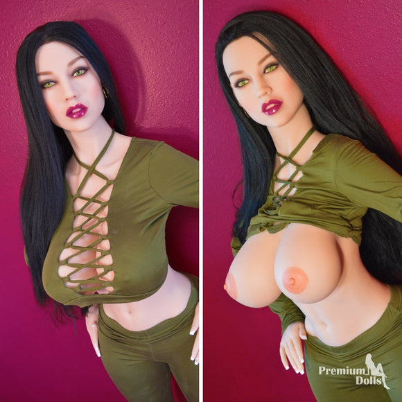 Ariella- Sex Doll with green eyes from Premium Dolls