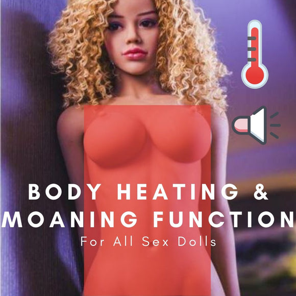 Body Heating & Moaning Function from Premium Dolls