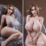 Clare - Elf Sex Doll with realistic skin and Ears from Premium Dolls