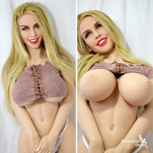 Enrika - The amazing hot Sex Doll with long blond hair from Premium Dolls