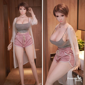 Gaby - Lifelike Big Breast Real TPE Silicone Sex Doll (5ft 6) from Premium Dolls