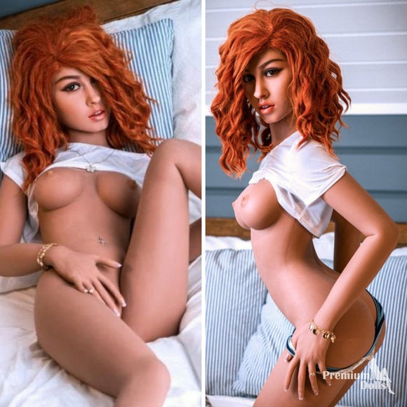 Lisa - Hot Red Head Sex Doll - High Quality TPE Sex Doll from Premium Dolls