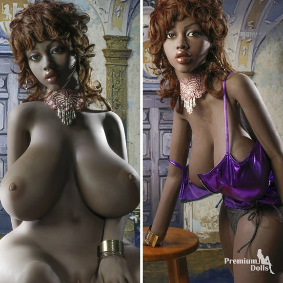 Malina - Black Sex Doll with Huge Boobs from Premium Dolls
