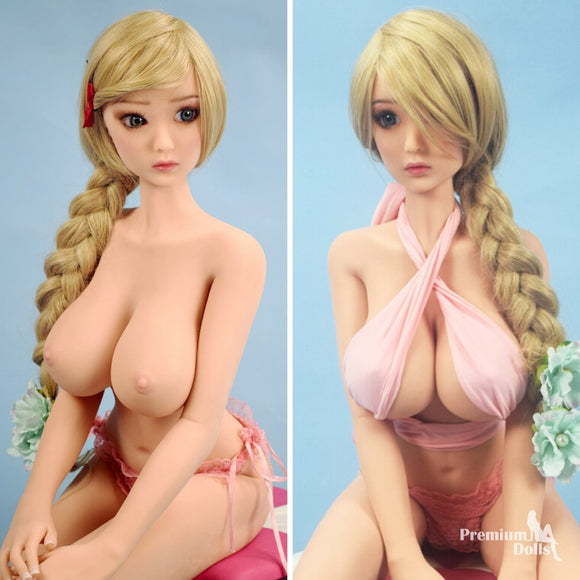 Minnie - Ultra realistic mini doll with huge breasts (3 sizes) from Premium Dolls
