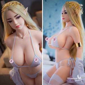 Paulina Elf- Fantasy Sex Doll with Elf ears (6 Sizes) from Premium Dolls