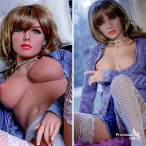Phoebe - Ultra realistic Blonde Sex Doll (5ft 3) from Premium Dolls