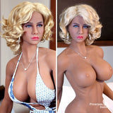 Sabra - High quality 5ft 6 blond TPE Sex Doll from Premium Dolls