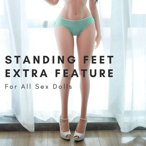 Standing Feet extra feature for Sex Dolls from Premium Dolls