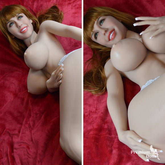 Terrana - The ultra realistic Sex Doll with red lips from Premium Dolls