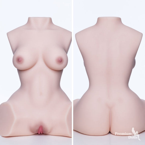 Ultra realistic TPE Sex Torso - Vaginal and Anal Capabilities from Premium Dolls