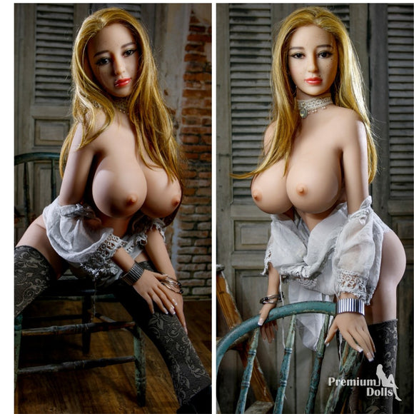 Yilia- The Freckled Face Beautiful Sex Doll from Premium Dolls
