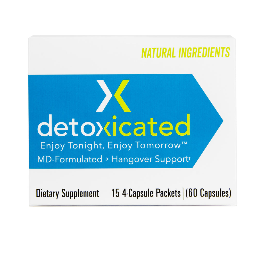 Detoxicated MD Formulated Natural Hangover Support