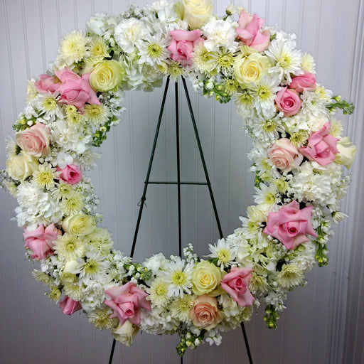 Soft Pastel Wreath