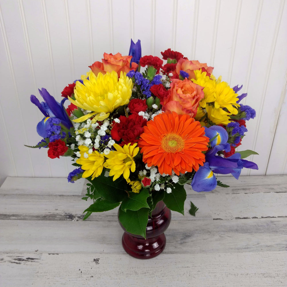 Bright and Bold Vase