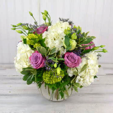 Bubble of Hydrangea and Roses