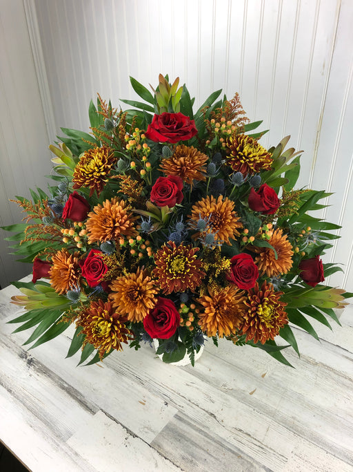 Autumnal Memories Sympathy Basket