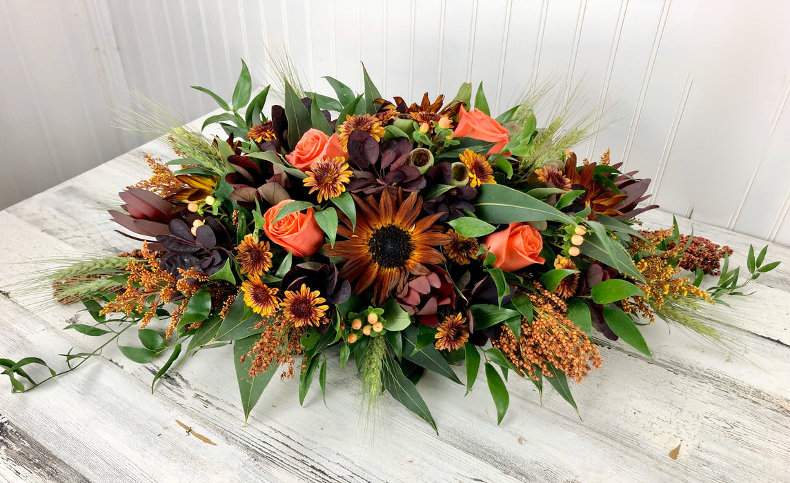 Autumn Radiance Oblong Centerpiece