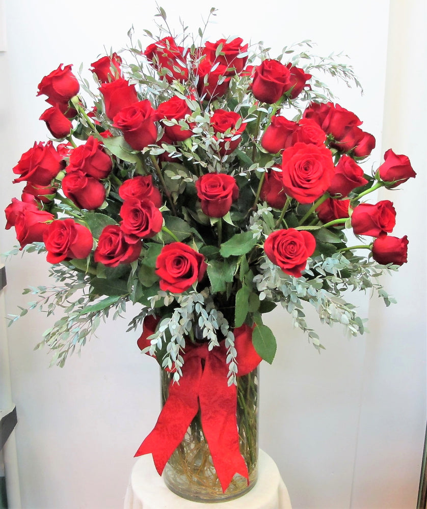 Overflow of Roses - 3 Dozen Long Stem Roses