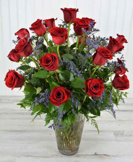 2 Dozen Forever Red Roses with Love