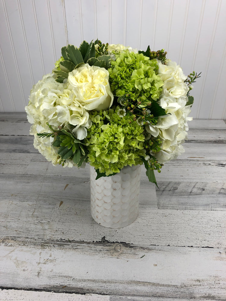 Green and Graceful Vase
