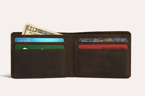 Step Up Wallet in Brown - Gear Supply Company