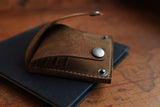 Wing Fold Card Case in Brown - Gear Supply Company
