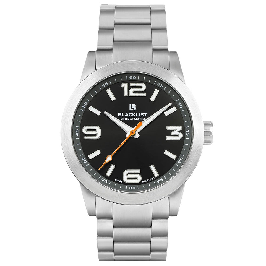 Blacklist Streetmatic Quartz Black Sunray - Steel - Gear Supply Company