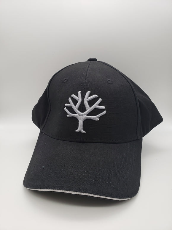 Boker Velcro Cap, Black and Silver Tree Brand Logo - 09BO105 - Gear Supply Company