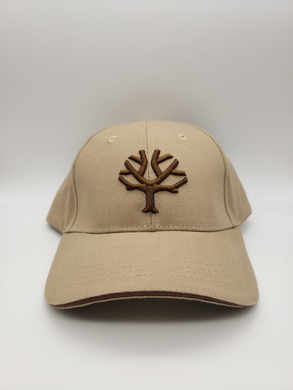 Boker Velcro Cap, Khaki with Brown Tree Brand Logo - 09BO002 - Gear Supply Company