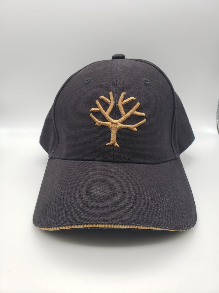 Boker Velcro Cap, Black with Brown Tree Brand Logo - 09BO001 - Gear Supply Company