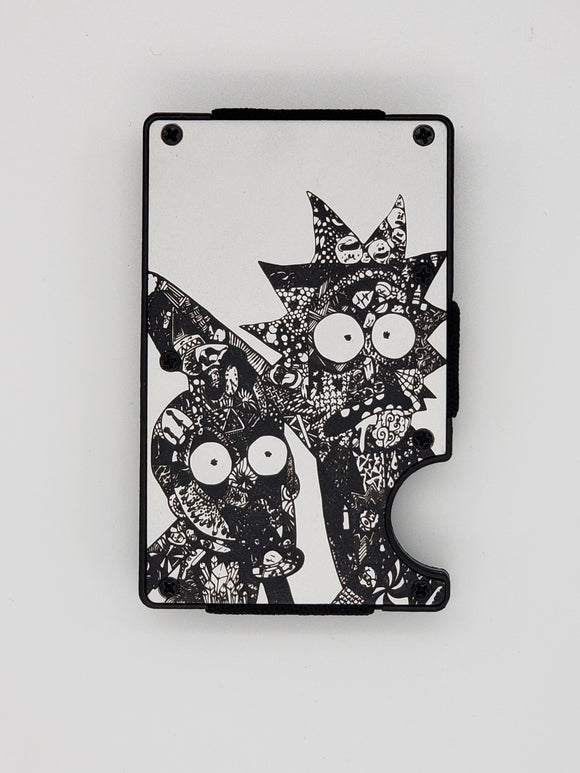 Gear Supply Exclusive Wallet Rick and Morty 2 Engraving - Gear Supply Company