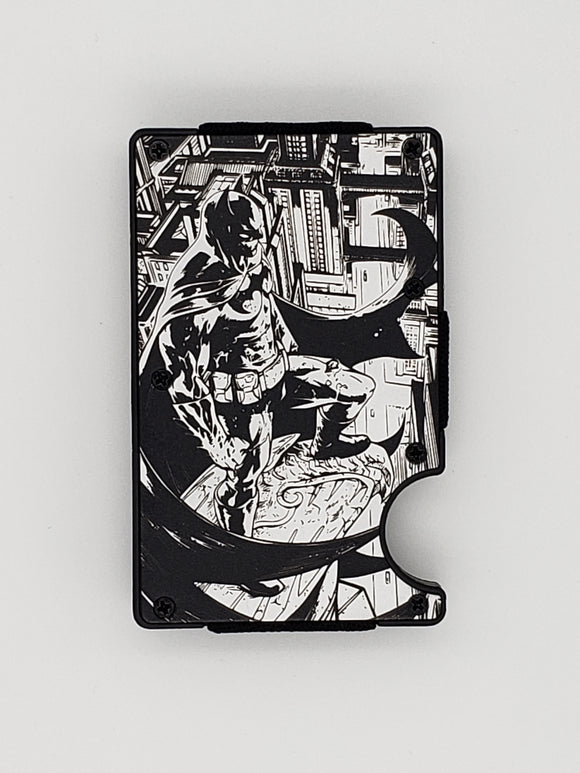 Gear Supply Exclusive Wallet Batman Engraving - Gear Supply Company