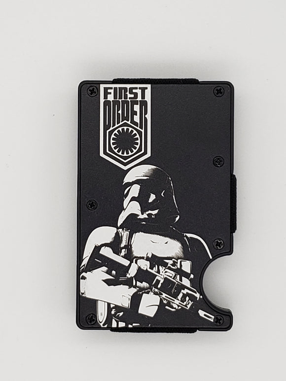 Gear Supply Exclusive Wallet First Order Storm Trooper Engraving - Gear Supply Company