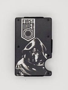 Gear Supply Exclusive Wallet First Order Kylo Ren Engraving - Gear Supply Company