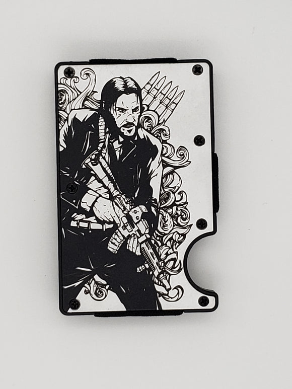Gear Supply Exclusive Wallet John Wick Engraving - Gear Supply Company