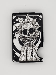 Gear Supply Exclusive Wallet Rick and Morty  3 Engraving - Gear Supply Company