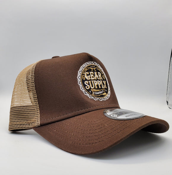 Gear Supply Company NewEra Snapback - Brown - Gear Supply Company