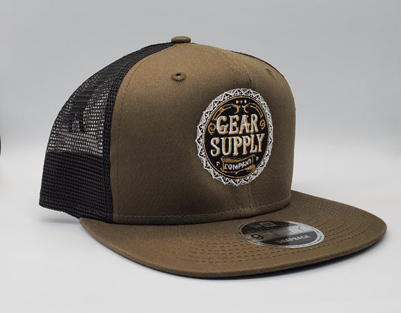 Gear Supply Company NewEra Snapback - OD Green