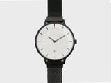Elliot Havok - Piano Black Minimalist Mesh - 38mm - Gear Supply Company