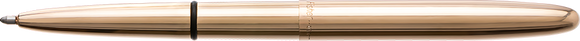 Fisher - 400RAW - ANTIMICROBIAL RAW BRASS BULLET SPACE PEN