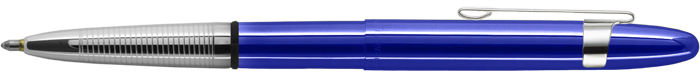 Blueberry Translucent Bullet Space Pen w/ Chrome Clip - 400BBCL - Gear Supply Company