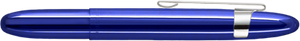 Fisher Blueberry Translucent Bullet Space Pen w/ Chrome Clip - 400BBCL - Gear Supply Company
