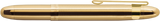 Fisher Lacquered Brass Bullet Space Pen w/ Gold Clip - 400GGCL - Gear Supply Company