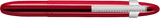 Fisher Red Cherry Translucent Bullet Space Pen w/ Chrome Clip - 400RCCL - Gear Supply Company