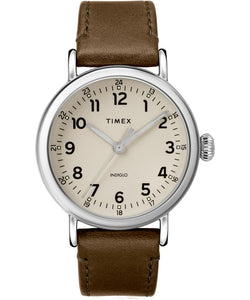 Standard 40mm Leather Strap Watch TW2T20100VQ - Gear Supply Company