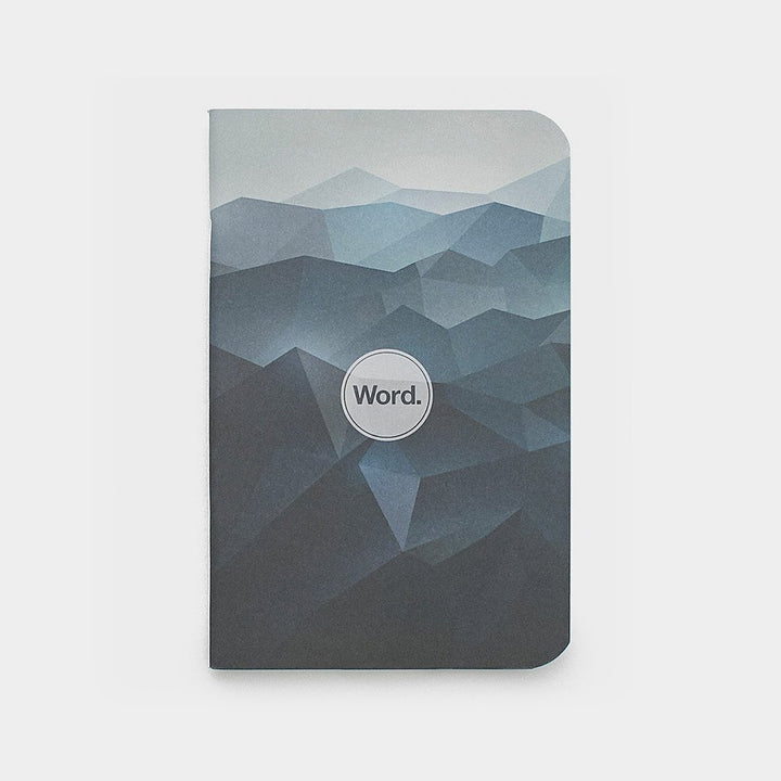 Blue Mountain by WORD. NOTEBOOKS - Gear Supply Company